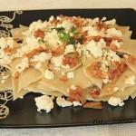 domowe łazanki z serem białym