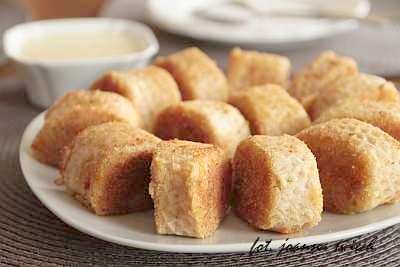 chrupiące ziemniaki w waflu