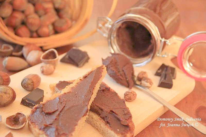 krem czekoladowo – orzechowy a'la Nutella