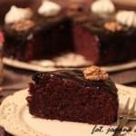 ciasto czekoladowo migdałowo orzechowe