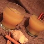 rozgrzewający napój ananasowo – imbirowy