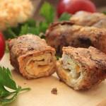 roladki z serem żółtym i papryką na obiad