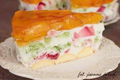 śmietanowiec – ciasto bez pieczenia