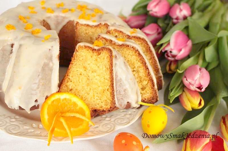 wielkanocna babka pomarańczowo – serowa