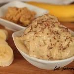 domowe lody bananowe z masłem orzechowym