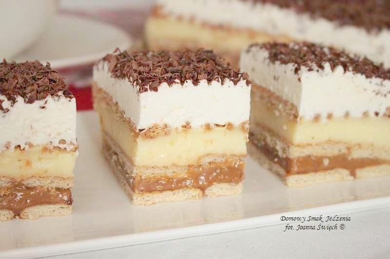 ciasto a'la 3 Bit bez pieczenia