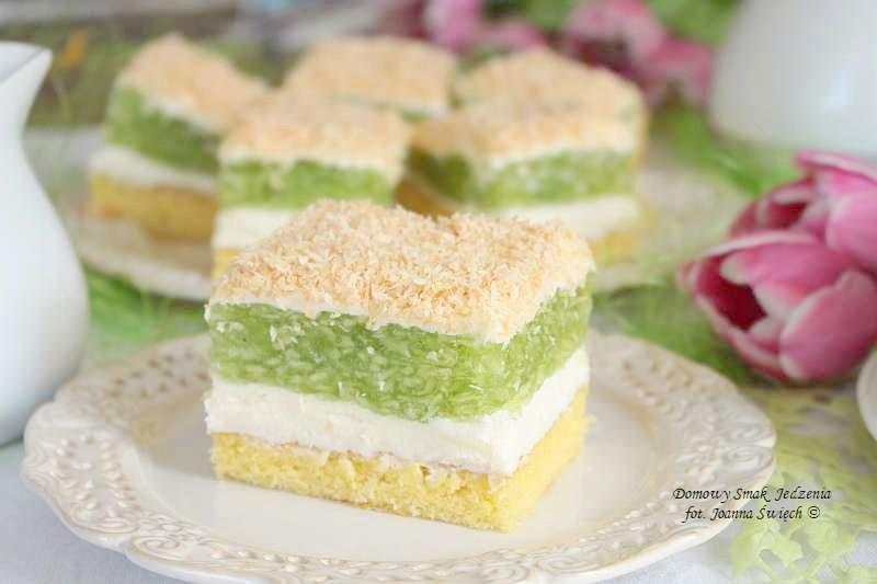 delikatne ciasto trociniak - idealne na przyjęcie komunijne