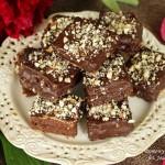 kostki czekoladowo orzechowe