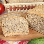 domowy chleb wieloziarnisty z mąki krupczatki