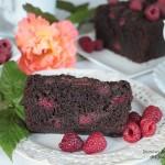 ciasto malina w czekoladzie