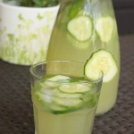 orzeźwiający napój z ogórków