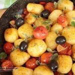 śródziemnomorska sałatka z ziemniaków