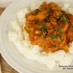 kurczak w sosie curry