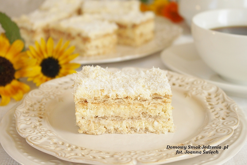 ciasto raffaello bez pieczenia II