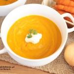 domowa zupa krem z marchewki