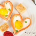 parówkowe serduszka z jajkiem