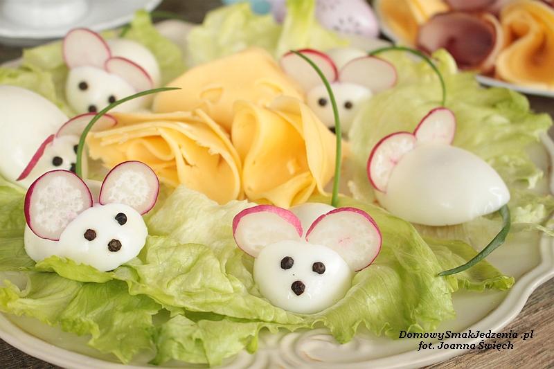 Biale Myszki Na Wielkanocny Stol Domowy Smak Jedzenia Pl