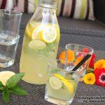 lemoniada cytrynowa z miętą