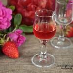 likier truskawkowo różany [+18]