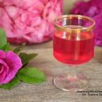 domowa woda różana