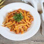 fasolka szparagowa w sosie pomidorowym