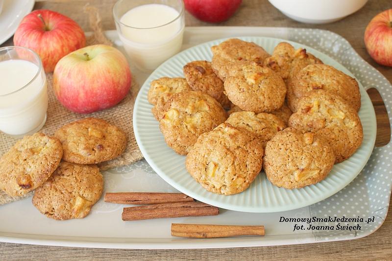 mięciutkie jesienne ciasteczka z jabłkami