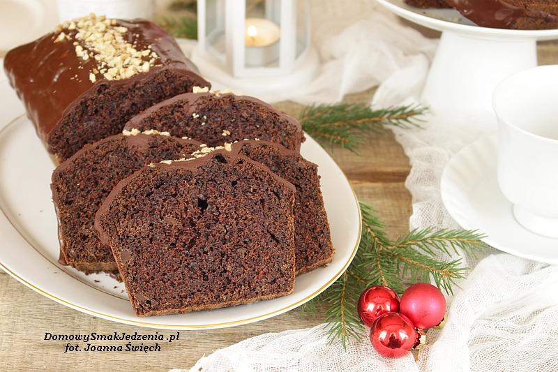ciasto czekoladowe z nutą piernika