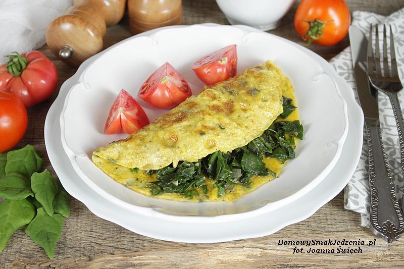 omlet_ze_szpinakiem