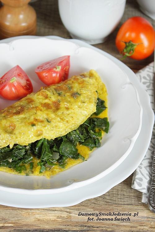 omlet_ze_szpinakiem1