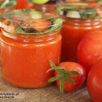 domowy przecier pomidorowy vel passata