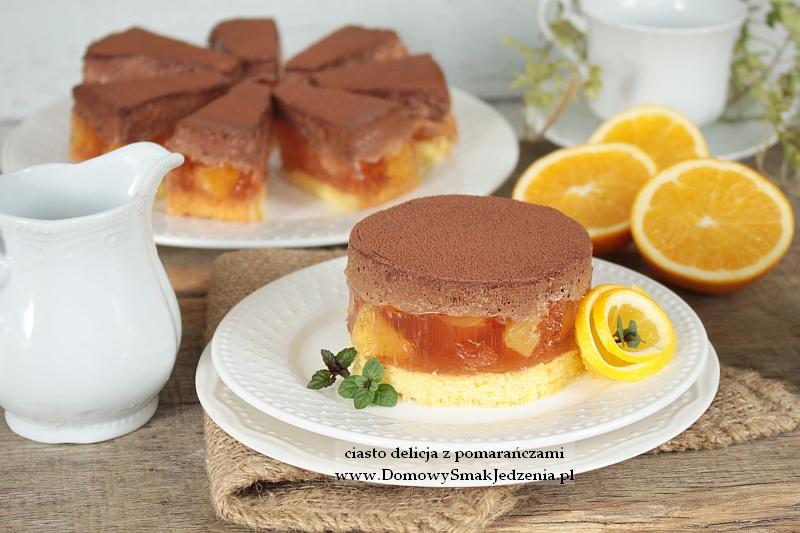 Ciasto Delicja Z Pomaranczami Domowy Smak Jedzenia Pl