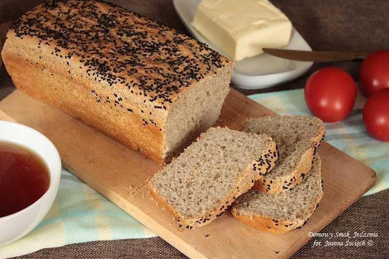domowy chleb pszenno żytni