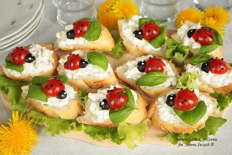 kanapeczki w biedroneczki