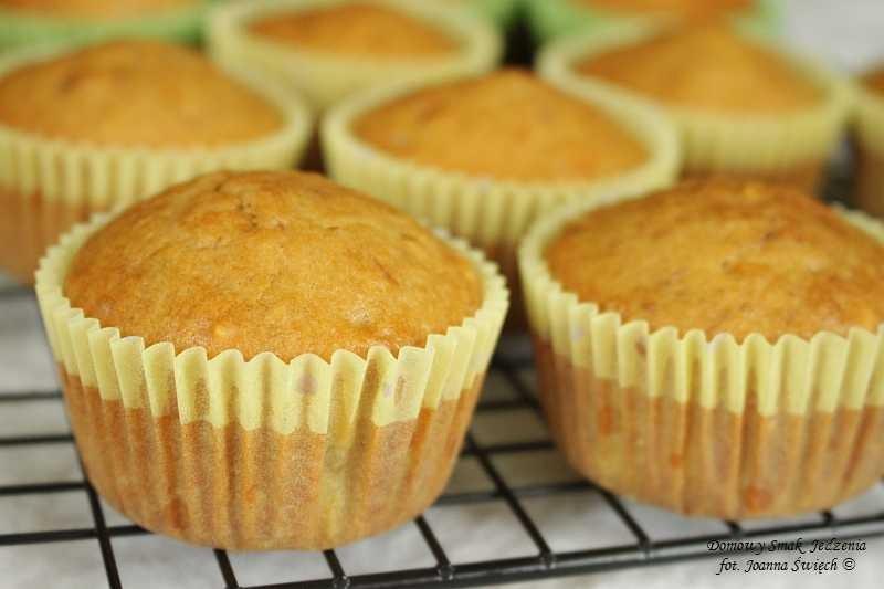 muffinki bananowo arachidowe