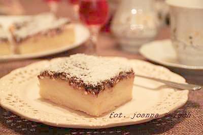 ciasto z masą budyniową – ekspresowe i bez pieczenia